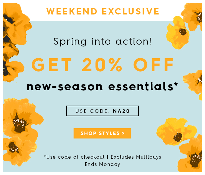 WoolOvers: 20% off new-season essentials