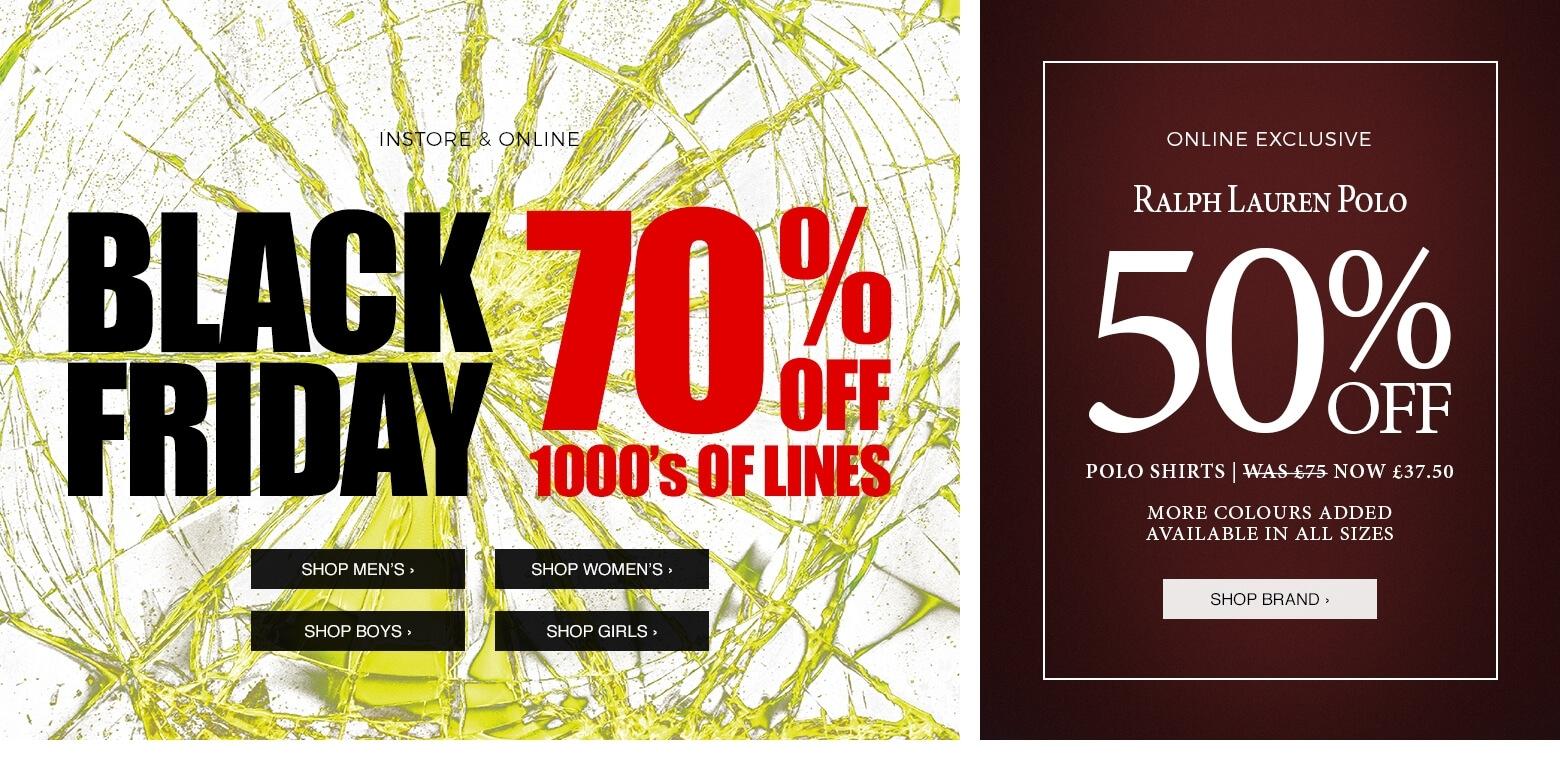 Black Friday Blue Inc: 70% off