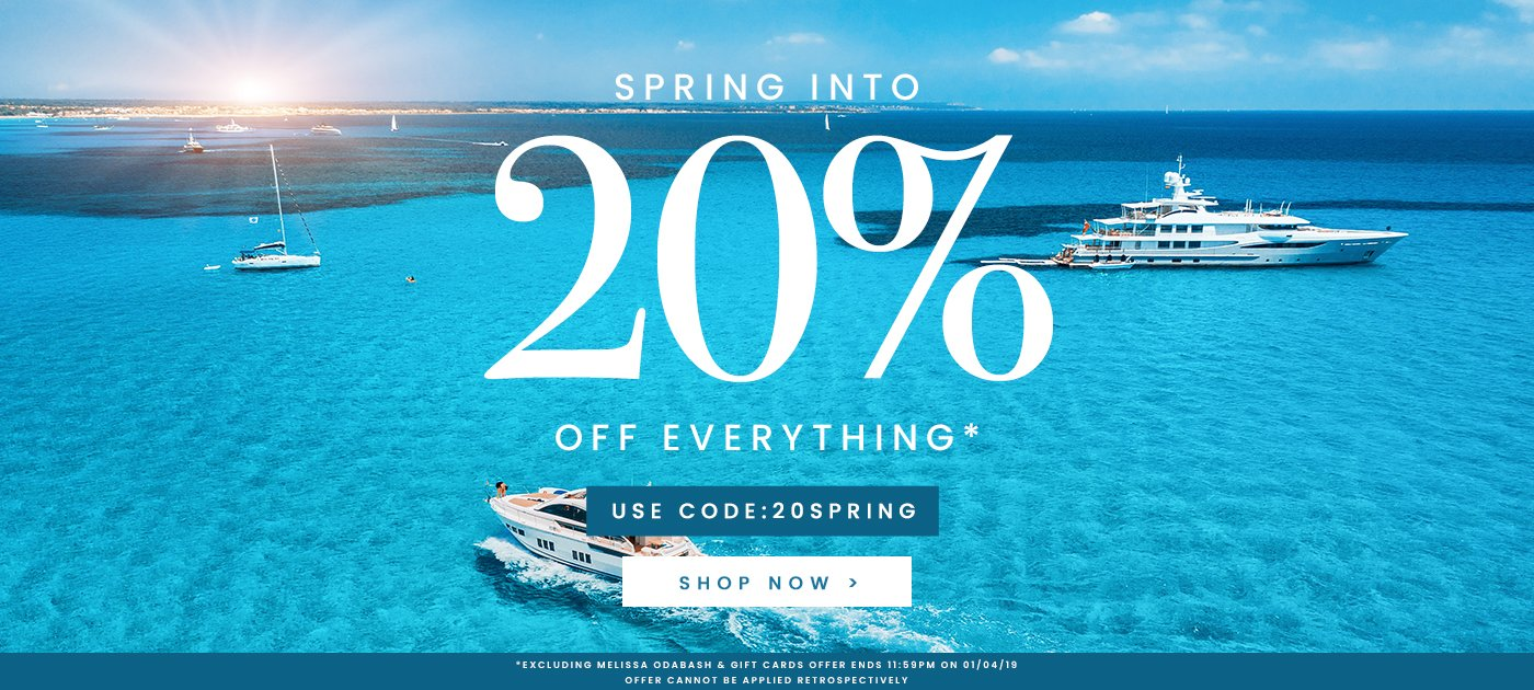 Simply Beach Simply Beach: 20% off designer swim & beachwear
