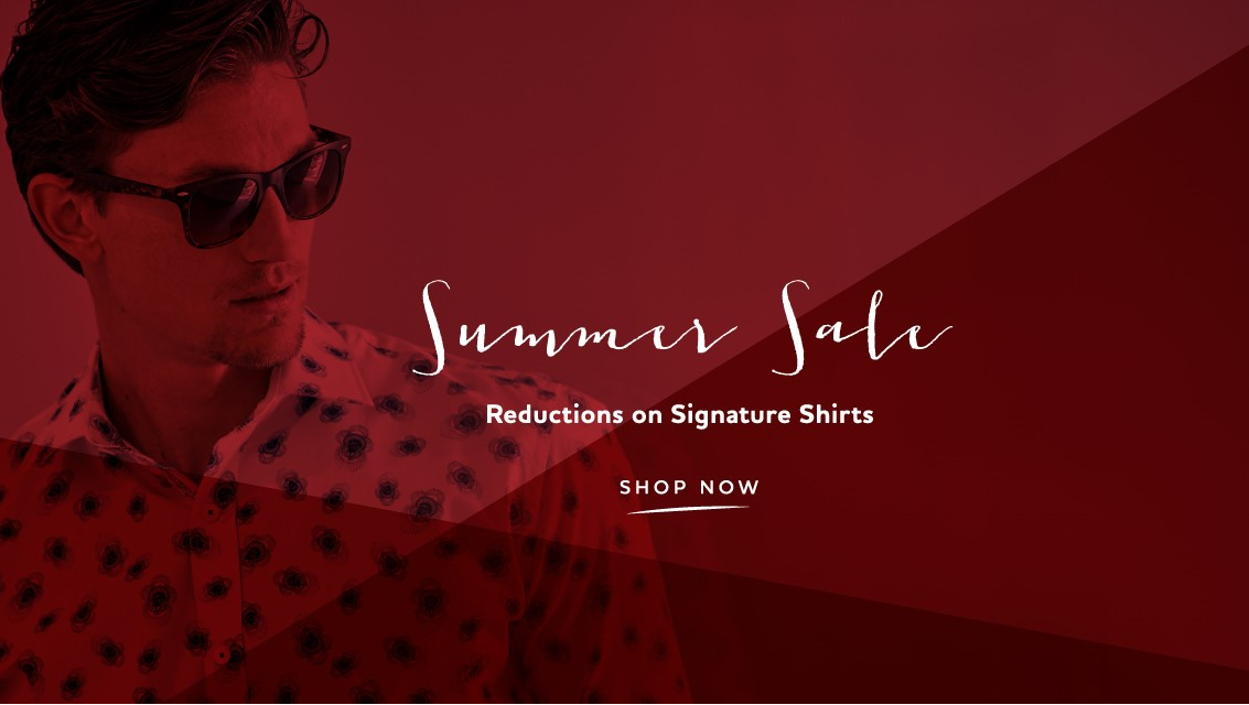 1 Like no Other: signature shirts from £70