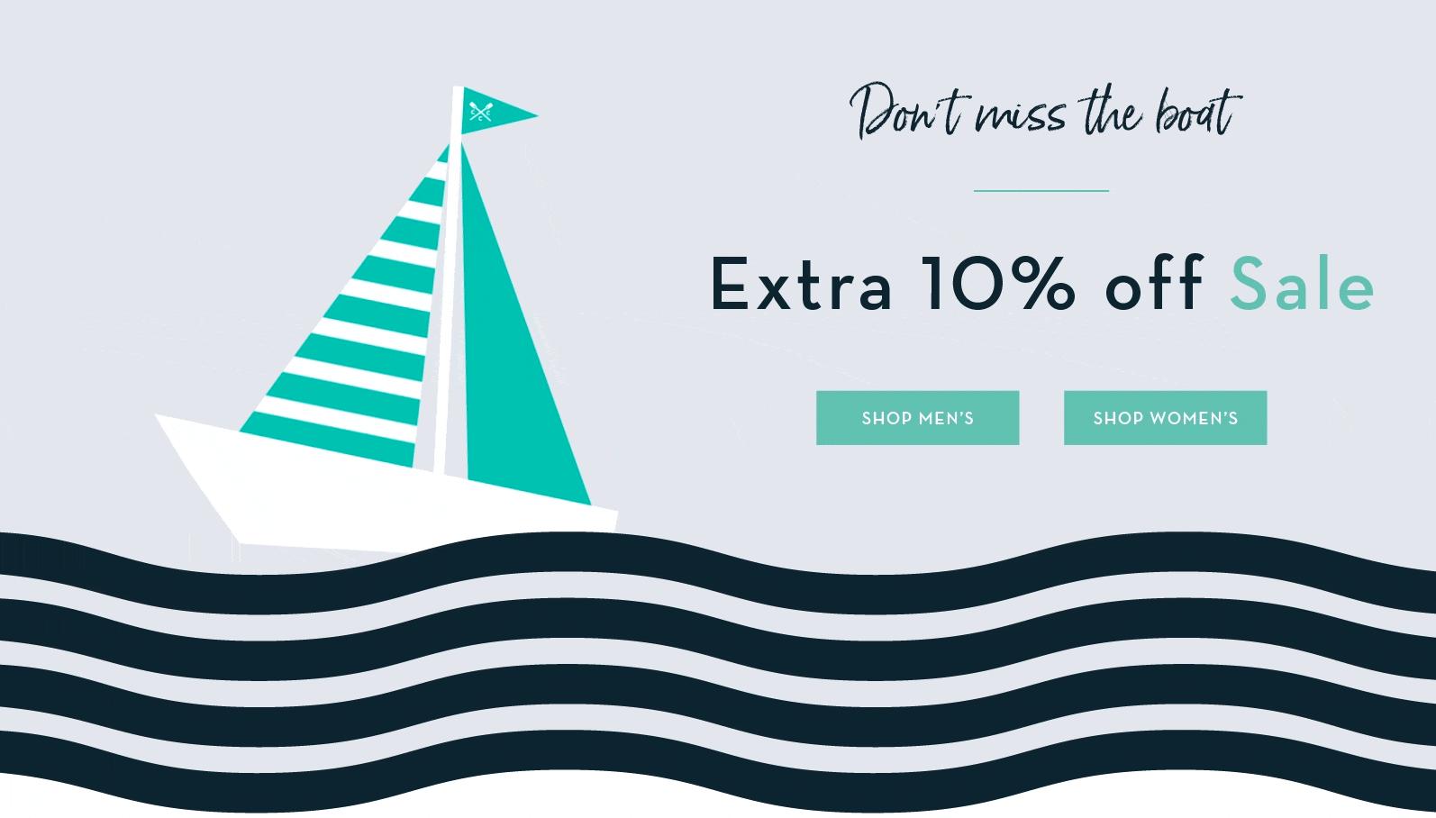 Crew Clothing Crew Clothing: extra 10% off sale
