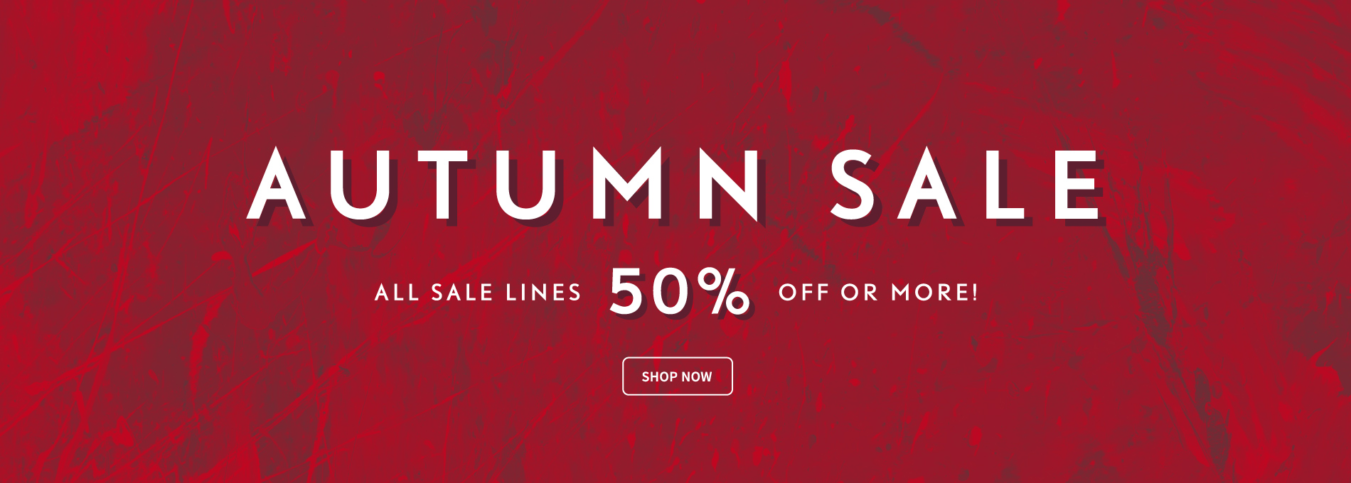 Suit Direct: Autumn Sale 50% off or more