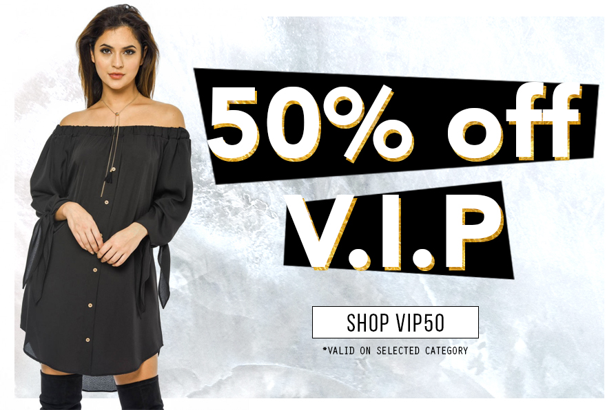 AX Paris: 50% off clothing