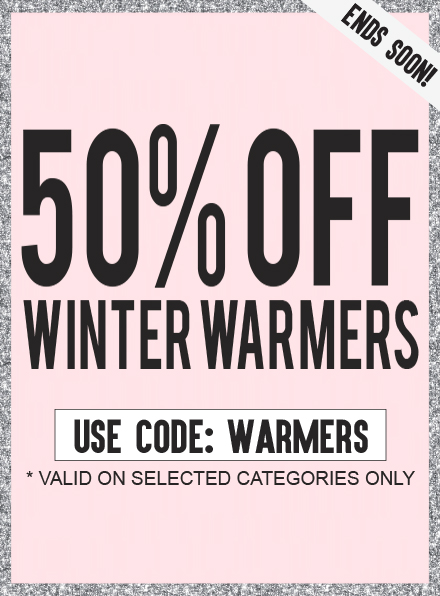 AX Paris: 50% off winter warmers