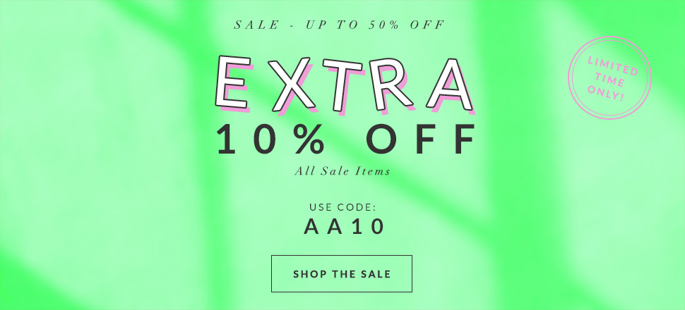 AlexandAlexa: Sale up to 50% off + extra 10% off on top kids brands