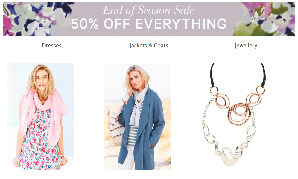 Adini: End of Season Sale up to 50% off dresses, jackets, jewellery and more