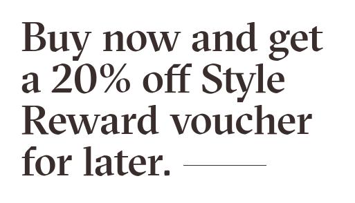 Aldo Shoes Aldo Shoes: 20% off Style Reward voucher for later