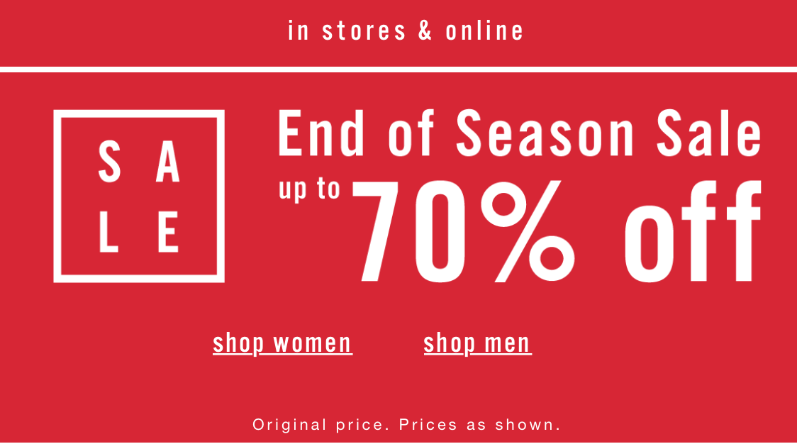 Aldo: season sale up to 70% off