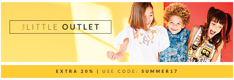 AlexandAlexa: 20% off 100s of top kids brands such as Burberry, Stella McCartney and Kenzo