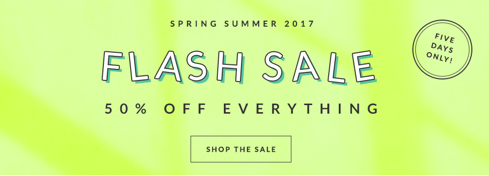AlexandAlexa: Sale 50% off everything