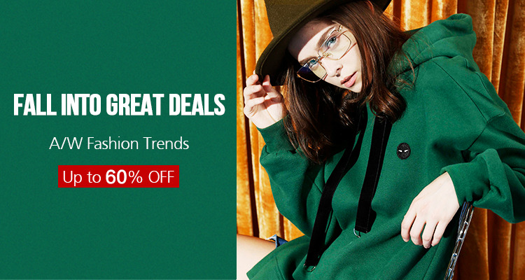 AliExpress: up to 60% off Autumn Winter Fashion Trends
