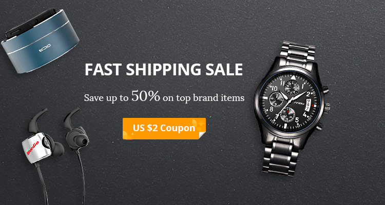 AliExpress: Sale 50% off top brands items