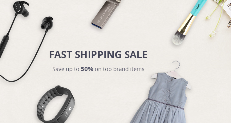 AliExpress: Sale up to 50% off on top brand items