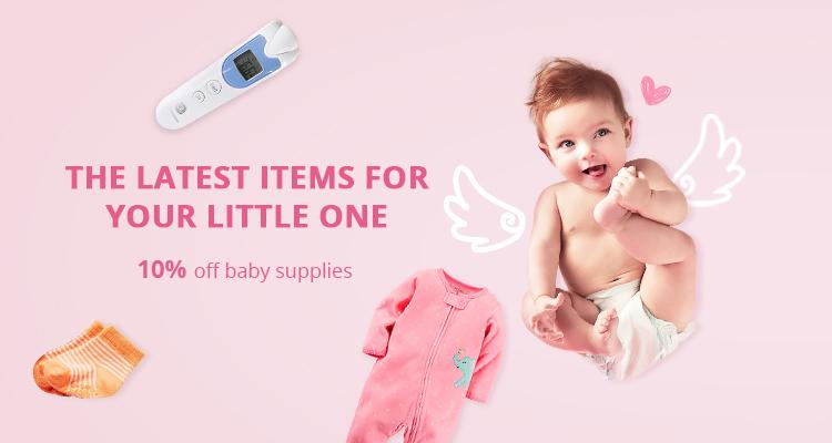 AliExpress: 10% off baby supplies