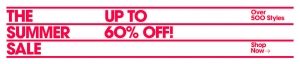 American Apparel: sale up to 60% off
