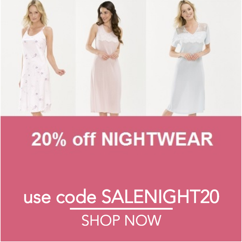 Ample Bosom Ample Bosom: 20% off nightwear