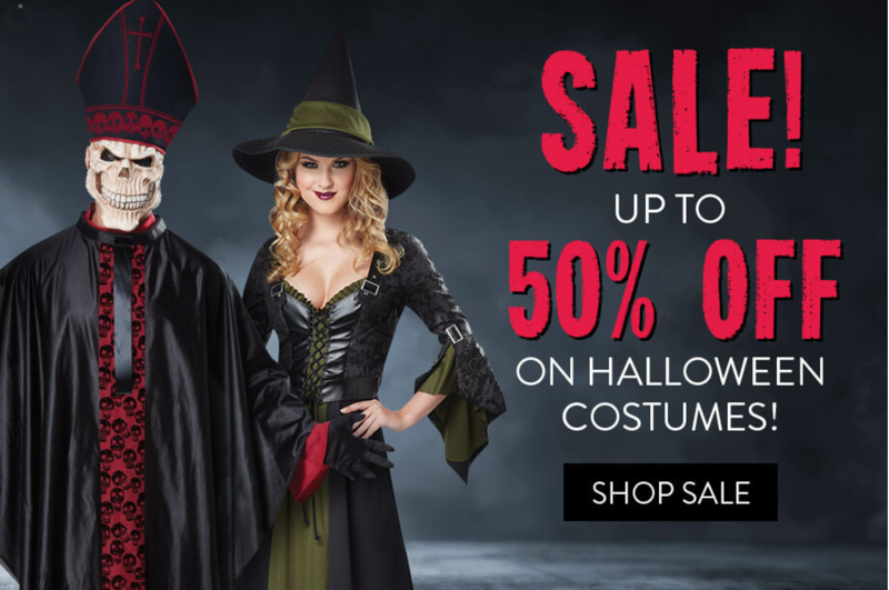 Angels Fancy Dress: Sale up to 50% off on Halloween costumes