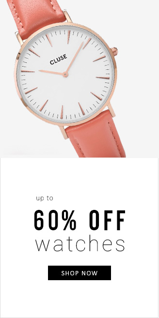 Apricot: up to 60% off watches