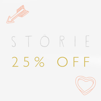 Argento: 25% off Storie jewellery
