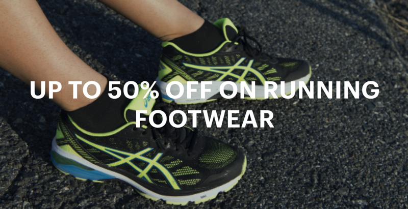 Asics Clearance: up to 50% off running footwear