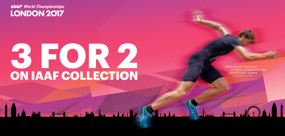 Asics: IAAF Collection 3 for 2