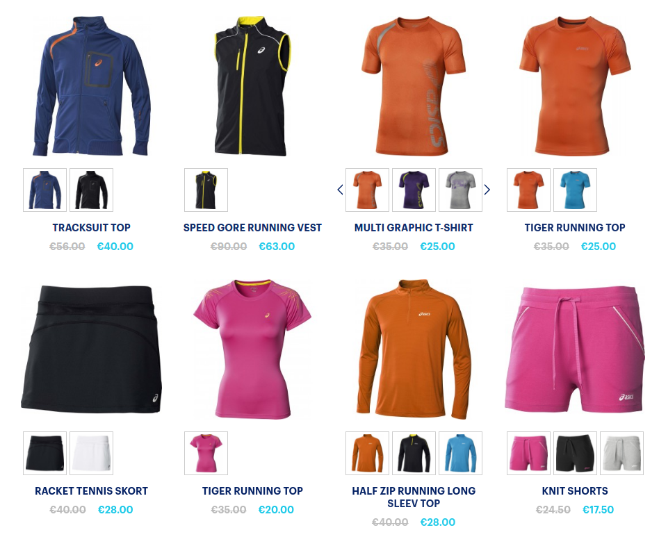 Asics Clearance: extra 20% off on last chance items