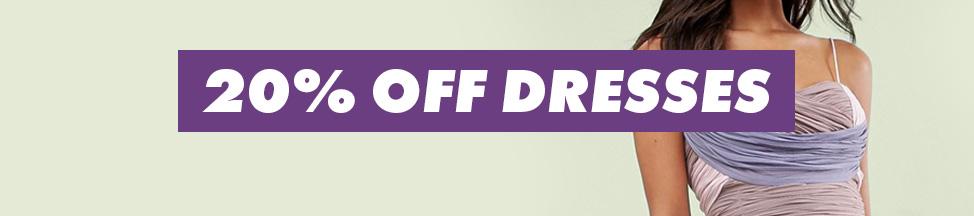 ASOS ASOS: 20% off dresses