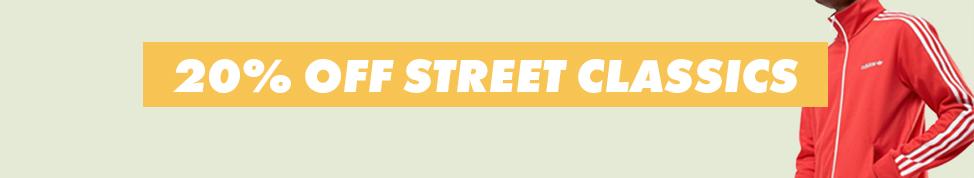 ASOS: 20% off street classics