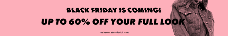 Black Friday ASOS: up to 60% off womens and mens wardrobe