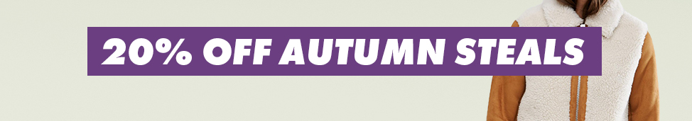 ASOS: 20% off autumn/winter dressing