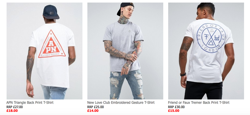 ASOS ASOS: Sale up to 60% off men caps, sunglasses, shorts, vests and more