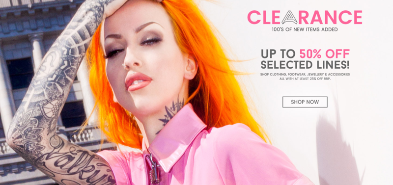 Attitude Clothing Attitude Clothing: Sale up to 50% off clothing, footwear, jewellery and accessories