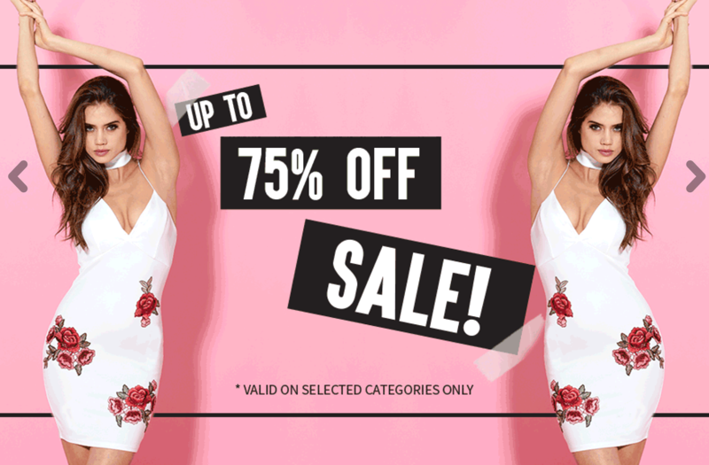 AX Paris: Sale up to 70% off on selected women's fashion