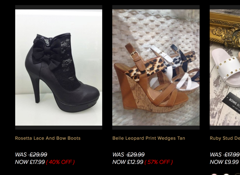Bows Boutiques Bows Boutiques: Sale up to 70% off women's fashion clothing