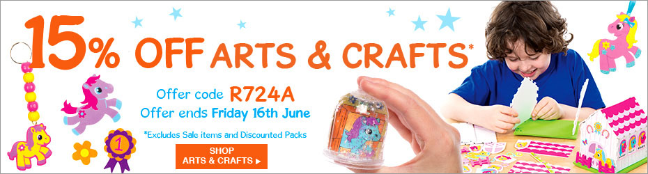 Baker Ross: 15% off arts and crafts