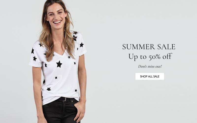 Baukjen: Summer Sale up to 50% off women's clothing