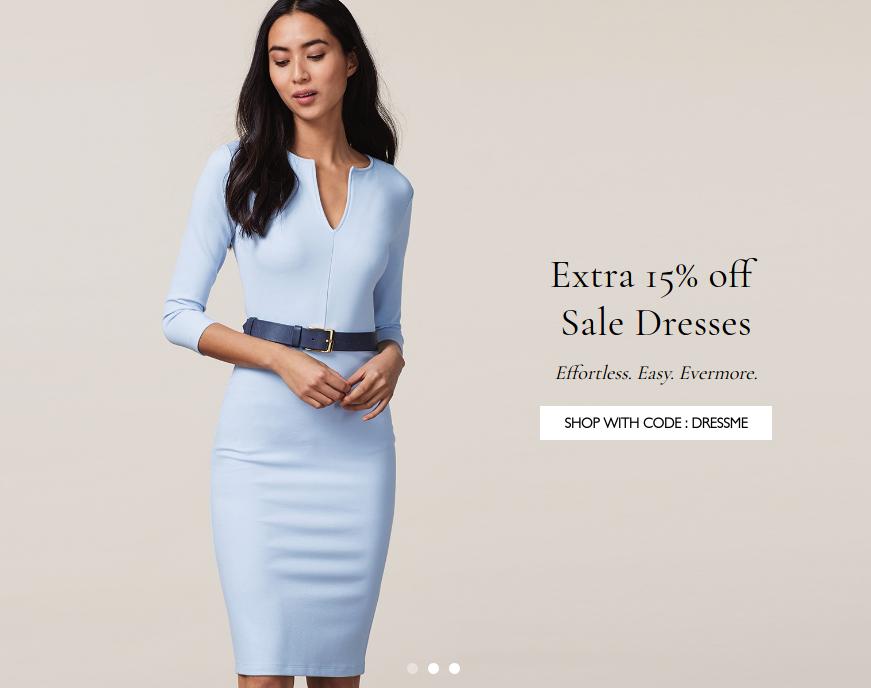 Baukjen: extra 15% off sale dresses
