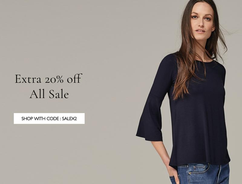 Baukjen: extra 20% off women's clothing sale