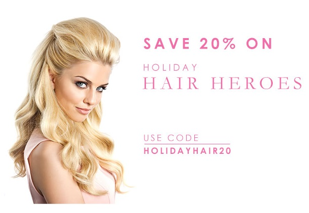 Beauty Works: 20% off Holiday Hair Heroes