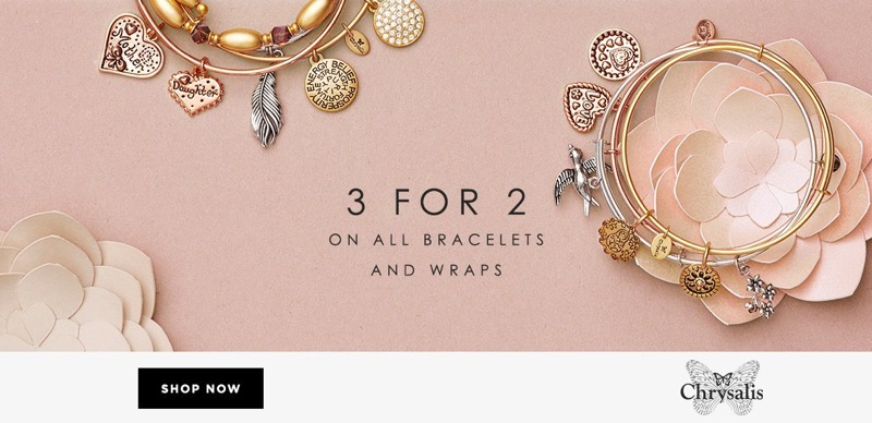 Bella Mia Boutique: 3 for 2 off on all bracelets and wraps