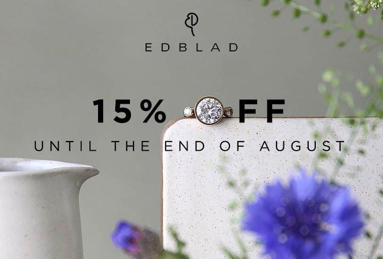 Bella Mia Boutique Bella Mia Boutique: 15% off Edblad Jewellery