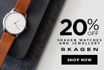 Bella Mia Boutique Bella Mia Boutique: 20% off Skagen watches and jewellery