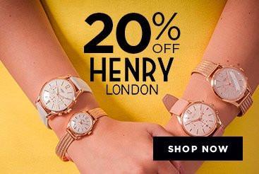 Bella Mia Boutique Bella Mia Boutique: 20% off Hendry London watches