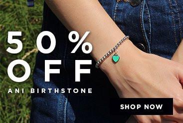 Bella Mia Boutique Bella Mia Boutique: 50% off Ani Birthstone bracelets