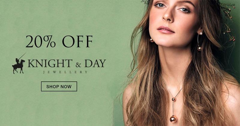 Bella Mia Boutique Bella Mia Boutique: 20% off Knight & Day jewellery