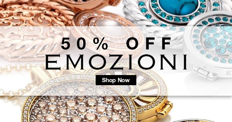Bella Mia Boutique: 50% off Emozioni jewellery