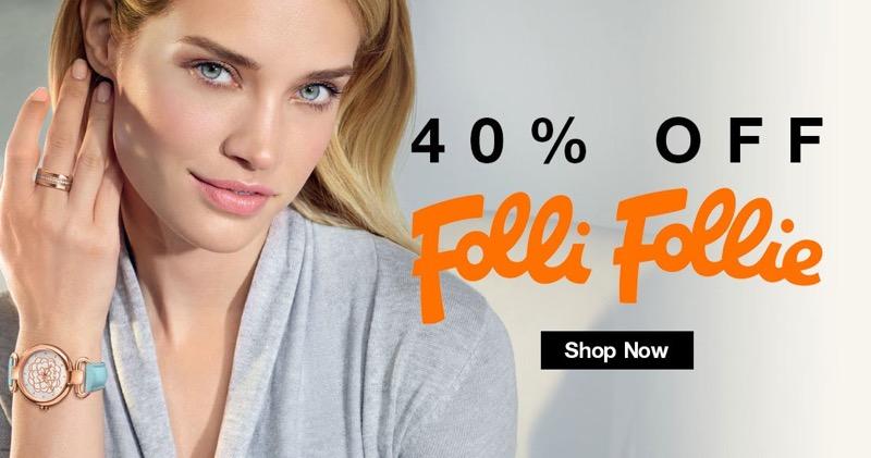 Bella Mia Boutique: 40% off Folli Follie jewellery