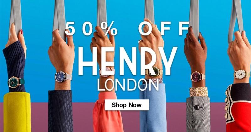 Bella Mia Boutique: 50% off Henry London jewellery