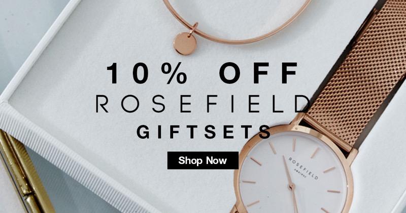Bedtime Flirt: 10% off Rosefield gift sets