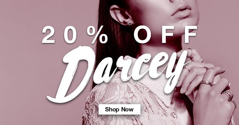 Bella Mia Boutique: 20% off Darcey jewellery